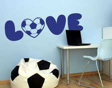 Soccer Love - highest quality wall decal stickers