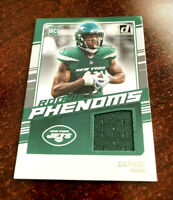 2020 Donruss Denzel Mims Rookie Phenoms Jersey Relic Patch RC New York Jets