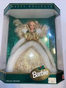1994 Happy Holidays Barbie Doll Mattel Special Edition