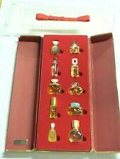 *RARE* Estee Lauder House of Fragrance Perfume Set of 10 mini bottles in box NEW