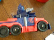 2006 Transformers Truck Action Figure Toy Blue RED Hasbro 6 inches