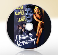 I Wake Up Screaming (1941) DVD Classic Crime Drama Movie / Film Noir Betty Gable
