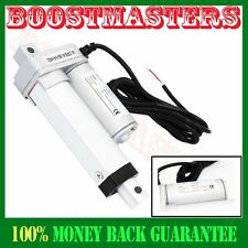 "8mm/s Spd DC 12V 50mm or 2"" Stroke Linear Actuator 1000N/Push 220 lbs Max Lift"
