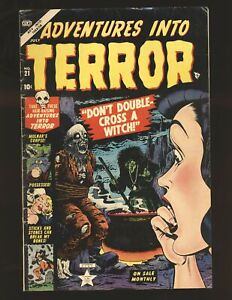 Adventures Into Terror # 21 VG+ Cond.
