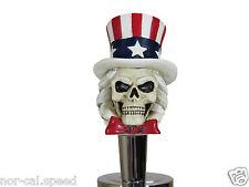 Uncle Sam America Skull Beer Tap Handle Keg Knob Pub Tapper Bar Kegerator Pull
