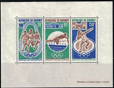 Dahomey SC165A 20th Souv.Sht. Olympic Games, Munich 1972