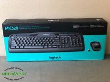 (Lot of 100) Logitech MK320 Wireless Keyboard and Mouse Combo