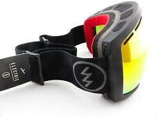 Electric Eg2 Snow Goggles Solar Bronze/red Chrome Yellow Lens Hard Case