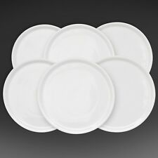 "Wholesale 72 White Italian Porcelain Pizza Plate 13"" Made in Italy."