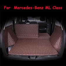 Car Trunk Boot Liner Carpet For Mercedes-Benz ML Class 2011-2016 Waterproof Mat