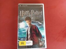HARRY POTTER AND THE HALF BLOOD PRINCE - PSP GAME COMPLETE - FREE POST