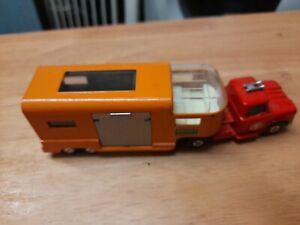 Matchbox KING Size K-18 DODGE Truck & HORSE Transport Trailer .with horse ,nice!