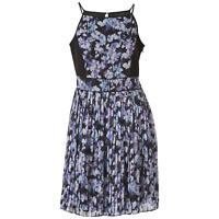 Women's Jessica Simpson Print Chiffon Pleated Dress 6 #NHWE2-M141