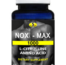 NOX1-MAX  NITRIC OXIDE EXTREME NO. BOOSTER  1000 Mg 90 CAPSULES L-CITRULLINE