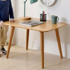 Strong Wood Dining Table Coffee Laptop Study Writing Desk Small Kitchen Home