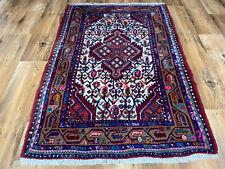 Handgeknüpfter Perser Orientteppich Malayer Hamedan Hell Sarough Tapis 85x125cm