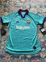 Nike Womens FC Barcelona Third Soccer Jersey Shirt Medium NWT Rakuten