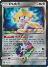 Pokemon SM - Celestial Storm Jirachi Prism Star #97 Prism Rare Holofoil - NM