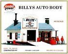 New In Box HO Scale Model Power #414 Billys Auto Body Kit