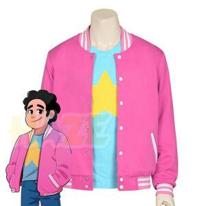 Steven Universe Steven Cosplay Coat Jacket T-Shirt Costume Halloween Unisex