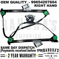 ALL PORSCHE 911/BOXSTER 986 1997-2005 FRONT RIGHT SIDE ELECTRIC WINDOW REGULATOR