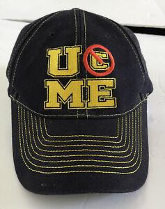 WWE AUTHENTIC JOHN CENA Neon Green Never Give Up Baseball Cap Hat