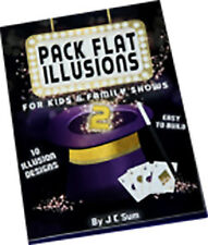 Pack Flat Illusions 2 for Kid's & Family Shows by Jc Sum - Book