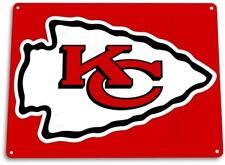 Kansas City Chiefs Tin Metal Sign