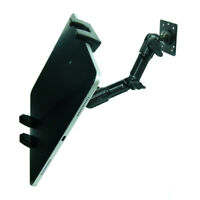 Screw Down Fully Adjustable Permanent Fleet Mount for Samsung Devices