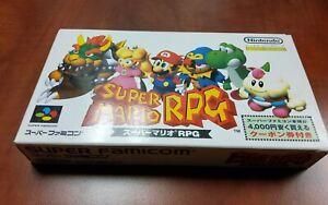 Super Famicom SFC Mario RPG CIB Complete in Box USA Seller $0 US Shipping