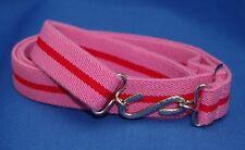 Adult Boys Mens Girls Pink Red Elasticated Snake Belt xl xxl xxxl 30 to 60 in pr