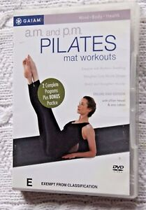A.M. AND P.M. PILATES - MAT WORKOUTS (DVD)