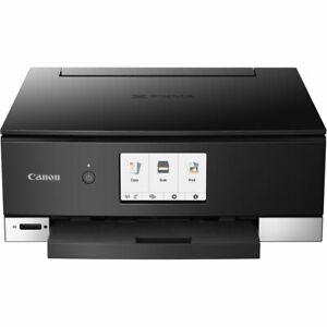 CANON TS8320 SOHO & INK 3775C002 WIRELESS INKJET BLK SCANNER PRINTER COPIER FAX