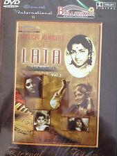 Musical Memories of Lata Vol.2, DVD, Bollywood Ent, Hindu Language, New