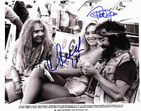 Cheech Marin & Tommy Chong Next Movie Authentic Signed 8x10 Photo BAS #B61889