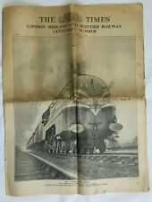 More details for 1938 the london times - london midland and scottish railway centenary number