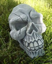 "latex w plastic backup skull mold mould 7"" x 5"" x 4"""