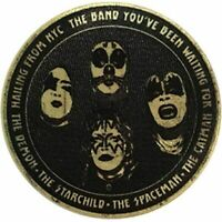 KISS - HAILING FROM NYC - EMBROIDERED PATCH - BRAND NEW - MUSIC BAND 4634