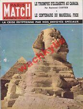 Paris Match n°137 du 03/11/1951 Suez Egypte Bonnard Louis Jouvet Foch