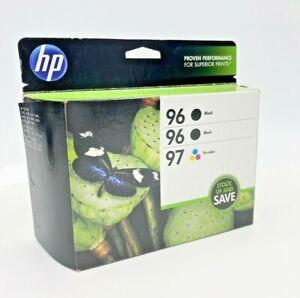 HP 96 Black & 97 Tri-color Original Ink Cartridges, 3 pack EXPIRE 2014