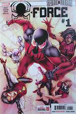 SPIDER-FORCE #1 ; Spider-Geddon (Spider Man, Woman) 2018 Marvel comics ... 9.8