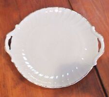 Bernardaud Limoges Frence cake,china Vintage Round serving Plate 10.5X10.5