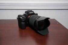 Sony Alpha A7 24.3 MP Mirrorless Digital Camera with 28-70mm Lens, Low Shutter