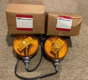 Original Massey Ferguson Flashing Warning Lamps