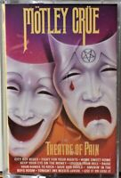 Cassette Motley Crue  Theater Theatre of Pain TESTED Smokin' in the Boys Room