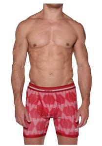 Umbro Men's Digital Boxer Brief - Red or Blue (Single)