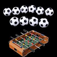 10pcs 32mm Plastic Soccer Table Foosball Ball Football Fussball EB