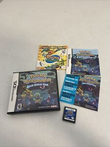 Pokemon Mystery Dungeon: Blue Rescue Team (Nintendo DS, 2006)