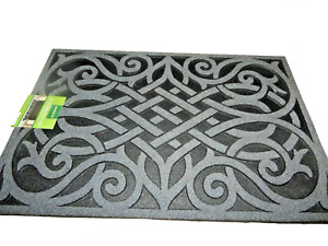 """24"""" x 36""""   Welcome Mat Entrance Outdoor Entry Decorative Rubber Mat"""