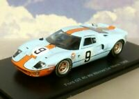SPARK 1/43 GULF FORD GT40 GT 40 #9 WINNER 1ST LE MANS 1968 P.RODRIGUEZ/L.BIANCHI